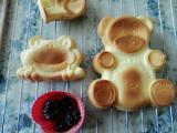 戚风小熊蛋糕的做法[图]