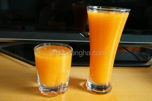 鲜浓木瓜汁