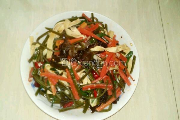 海带丝拌凉菜