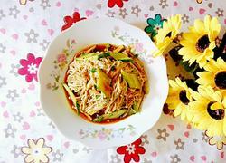 黄瓜拌金针菇