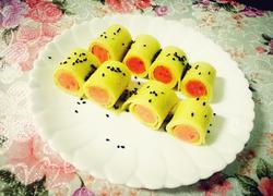鸡蛋饼卷。