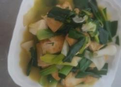 洋大蒜烧豆腐