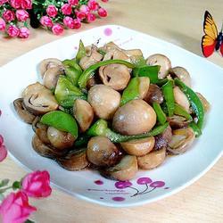 蚝油草菇的做法[图]