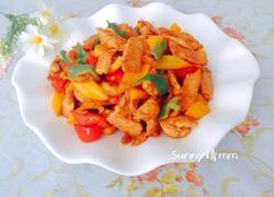 彩椒炒鸡肉片