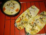 橙香绿豆花椰奶布丁的做法[图]