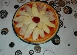 苹果草莓奶酪派