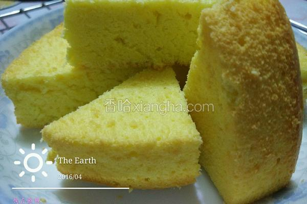 蛋黄柠檬蛋糕