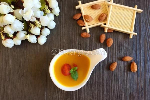 南瓜羹~豆浆机食谱