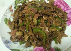 干笋炒腊肉