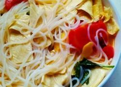 番茄粉丝豆皮汤