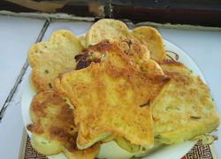 葱花鸡蛋软饼