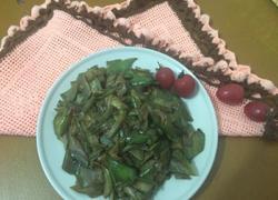 花生油焖青茄子