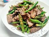 尖椒炒猪肝的做法[图]