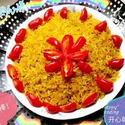 黄色糯米饭