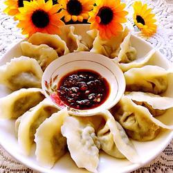 猪肉山芹菜饺子