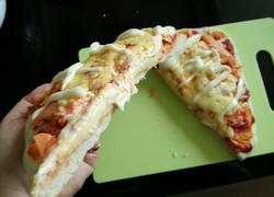 面包机烟熏三文鱼披萨(烤肉披萨)