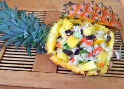 鸡丁菠萝饭