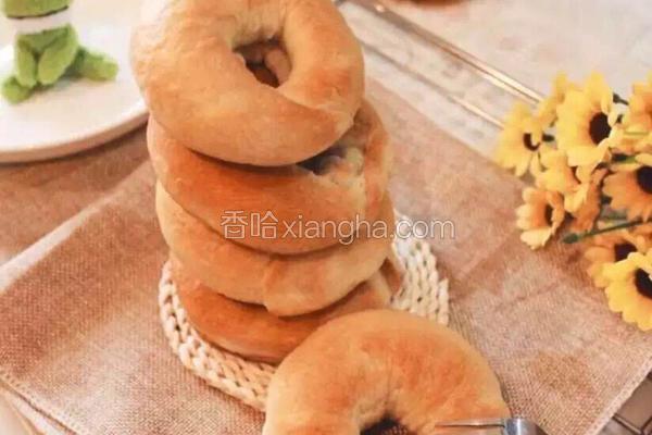 全纽约最火的bagel百吉饼(贝果面包)➕bagel三明治