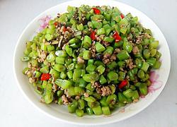 橄榄菜四季豆