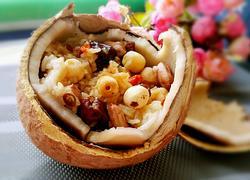 自制海南椰子饭