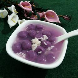 紫薯小汤圆的做法[图]