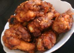 酱油炸鸡腿