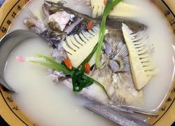鲜笋野生桂鱼汤