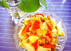 胡萝卜土豆饭