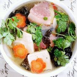 宣威火腿蔬菜菌汤
