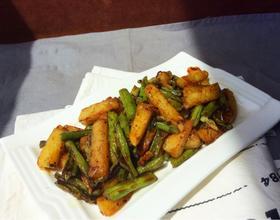 土豆烧豆角[图]