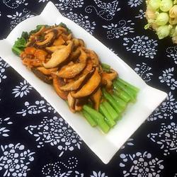 蚝油香菇菜心的做法[图]