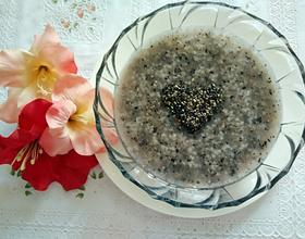 黑芝麻粥[图]
