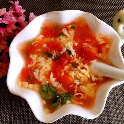番茄鸡蛋汤的做法[图]