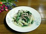小白菜炒肉丝的做法[图]