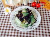 素炒木耳青菜的做法[图]