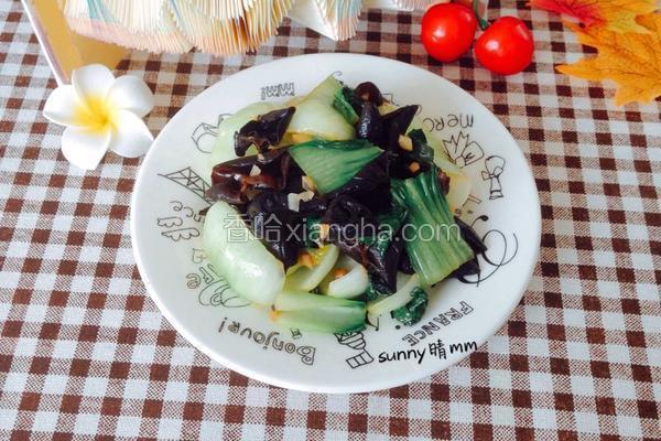 素炒木耳青菜