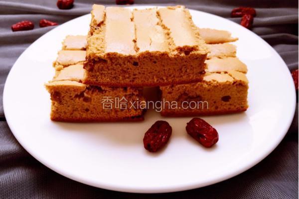 红枣红糖戚风蛋糕
