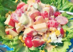 什锦蔬菜水果沙拉