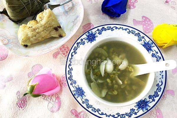 百合绿豆汤