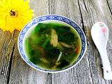 猪肝菠菜汤的做法[图]