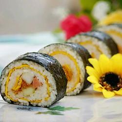 果蔬鸭蛋寿司卷