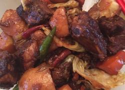 蔬菜烧排骨