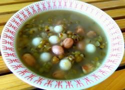 花生绿豆沙汤圆