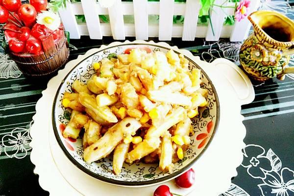 玉米粒土豆烧豆角