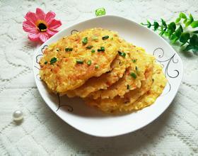 鸡蛋米饭煎饼[图]