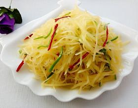 炝拌土豆丝[图]