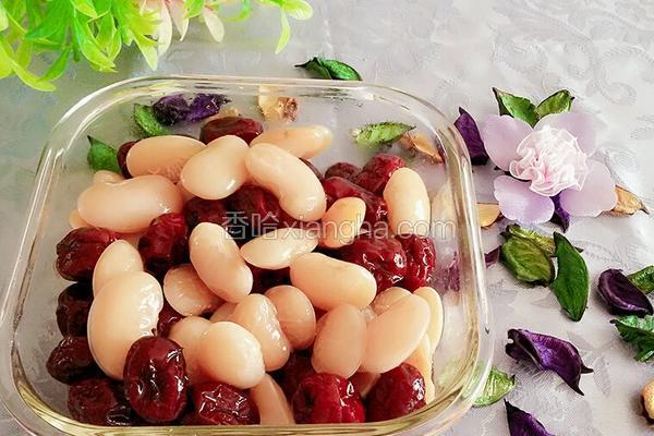 蜜汁红枣芸豆