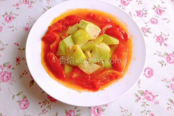 番茄烩西葫芦