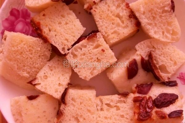奶香红枣发糕