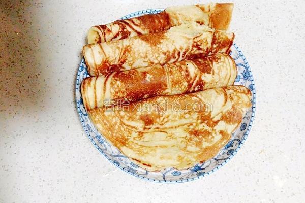 玉米发面煎饼(摊黄儿)